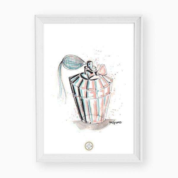 Artprint - Parfume d'aqua