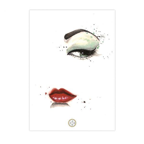 Postkarte - En Vogue
