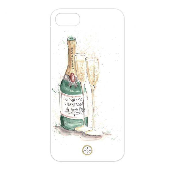 Einleger - Champagne bottle
