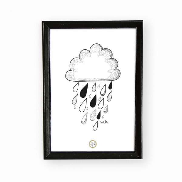 Artprint - Cloudy cloud
