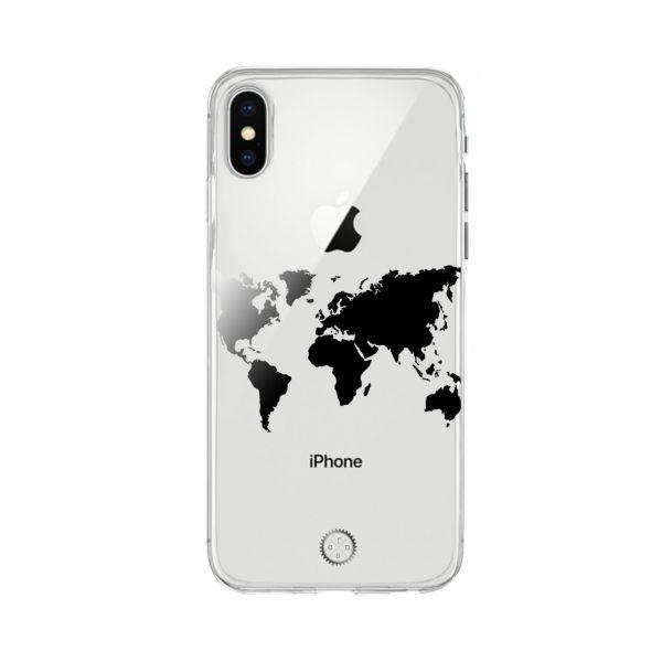 Einleger, transparent - Map of the world