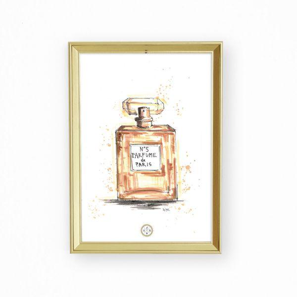 Artprint - Parfume de Paris