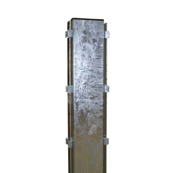 Pfosten für Steinmauer-Gabionen 180 cm, feuerverzinkt