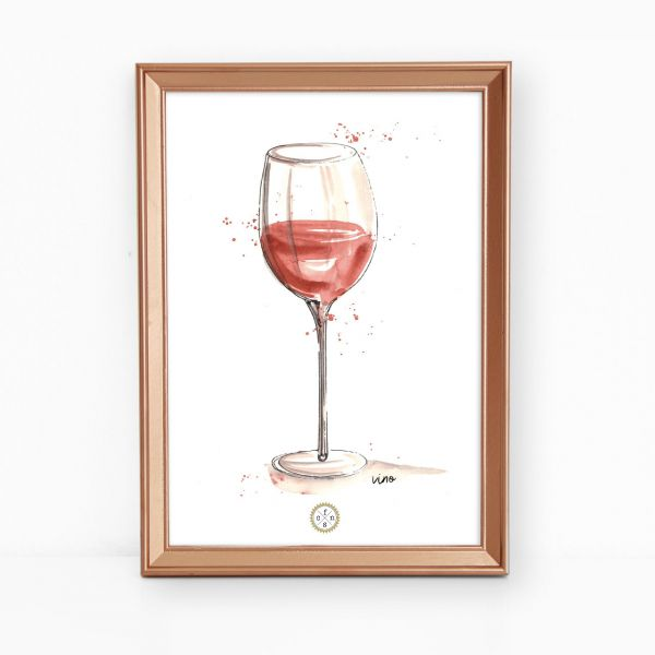 Artprint - Vino