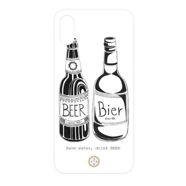 """Einleger """"SAVE WATER, DRINK BEER"""""""