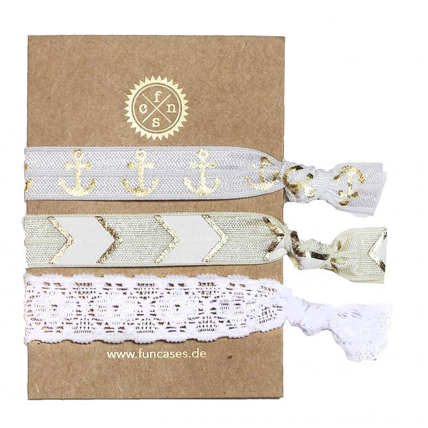 Strap-Set - Golden White Party