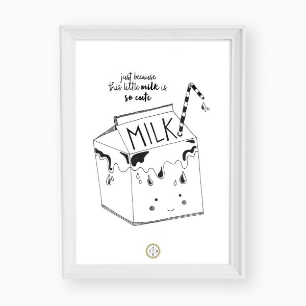 Artprint - Milk bag