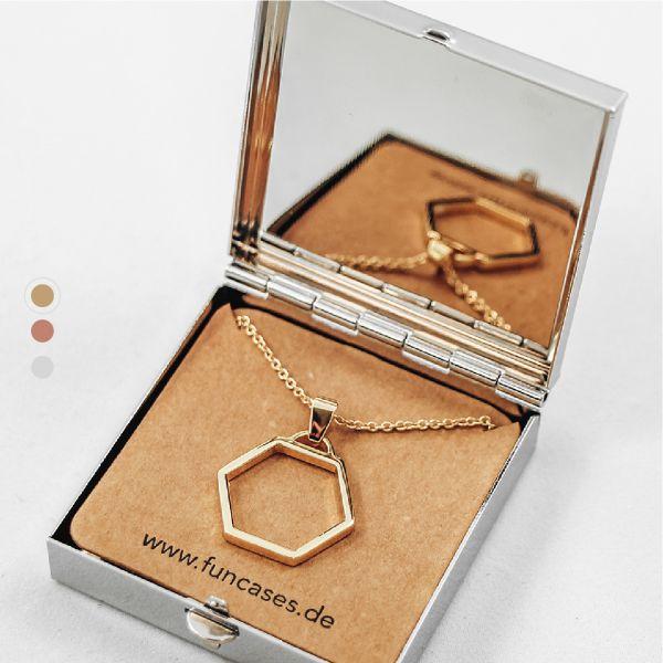 Halskette Hexagon
